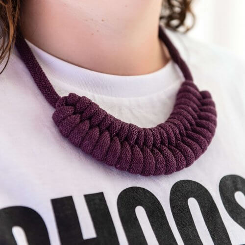 Chunky Woven Necklace