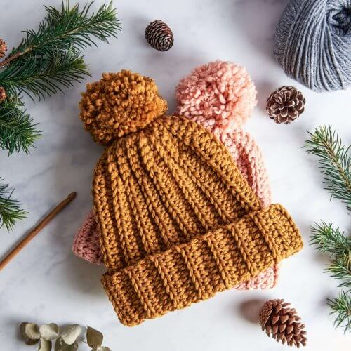 Bobby Bobble Hat Crochet Kit