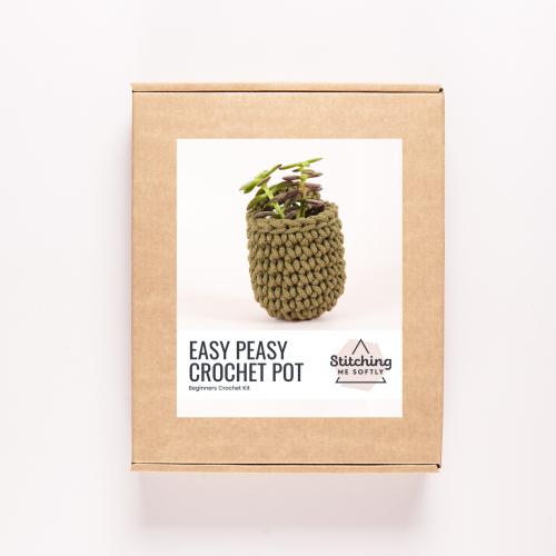 Easy Peasy Crochet Pot Kit
