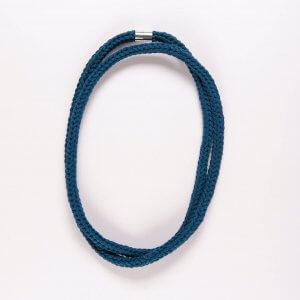 Multiway Crochet Necklace Petrol