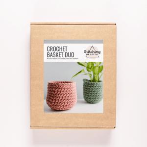 Crochet Basket Kit